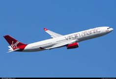 Virgin Atlantic Airbus A330-343 (registered G-VINE; photo by James Rowson)