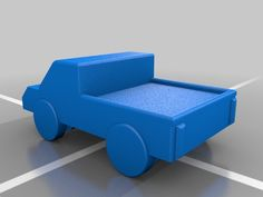 Simple Toy Truck by Cool_Designs - Thingiverse