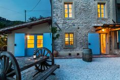 The Old Stone House Tuscany Lucca Smart Apartment in Orbicciano Lucca