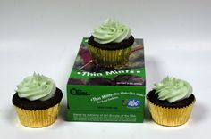 For the cookie booth: give away a Thin Mint cupcake with each box of Thin Mints purchased. Include the recipe.