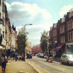 West Hampstead in West Hampstead, Greater London