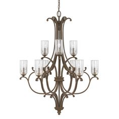 Found it at Joss & Main - Dovizia 10 Light Candle Chandelier