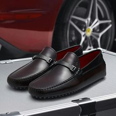 TOD'S Ferrari gommino Fly Shoes, Men's Shoes, Dress Shoes, Driving Loafers, Driving Shoes, Formal Shoes, Casual Shoes, Loafer Shoes, Loafers Men