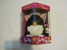 We have for sale a 1998 Furby that is new in the box--the box has been opened but the Furby has never been removed from box--see pictures. the more you play with the Furby the more it does. can dance, wiggle my ears, blink my eyes, and move my mouth. | eBay!