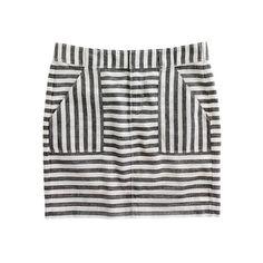 Striped Miniskirt / Madewell