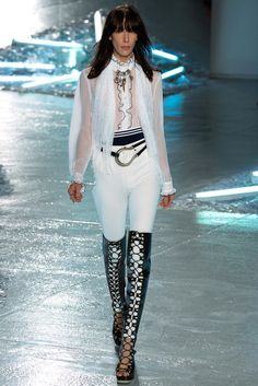 See the complete Rodarte Spring 2015 Ready-to-Wear collection.
