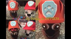 Cumple Paw Patrol, Pow, Party, Fictional Characters, Sweet, Youtube, Ideas, Craft, Sachets