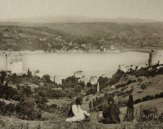 Rumeli Hisarı'ndan Anadolu Hisarı'na bakış (Yıl?) #istanbul