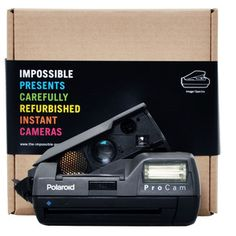 Polaroid Spectra Pro Cam Camera, £109, now featured on Fab.