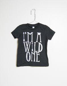Wild One Onesie - Slyfox Threads Toddler Boy Fashion, Little Boy Fashion, Toddler Outfits, Boy Outfits, Kids Fashion, Wishes For Baby, Wild Ones, Costume, Baby Love