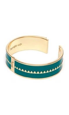 Bracelet ornementé vert sauvage Bollystud : 69 €