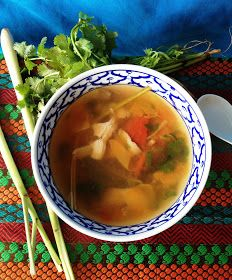 The Mistress of Spices: Tom yum soup