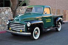 1950 GMC PICKUP Vía: Classic Car Pictures