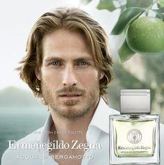 Ermenegildo Zegna Acqua di Bergamotto Fragrance Campaign Starring Ryan Burns