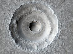 Double Crater on Mars