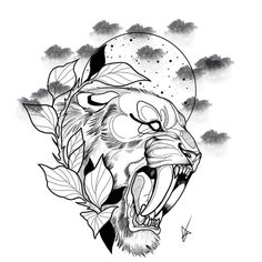 Japan Tattoo Design, Tattoo Design Drawings, Tattoo Sketches, Drawing Sketches, Black Cat Tattoos, Animal Tattoos, Desenho Do Star Wars, Gangsta Tattoos, Family Tattoo Designs