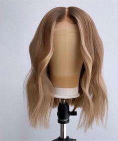 Hair Color Streaks, Hair Dye Colors, Baddie Hairstyles, Weave Hairstyles, Curly Hair Styles, Natural Hair Styles, Pretty Hair Color, Lace Hair, Aesthetic Hair