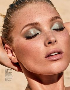 Elsa Hosk Is Water Baby Lensed By David Roemer For Madame Figaro April 2017