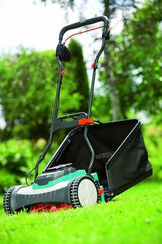 Gardena 4025-U 15-Inch 25-Volt 3.2 amp Lithium-Ion Cordless Push Reel Lawn Mower Reel Lawn Mower, Outdoor Power Equipment, Amp, Wolf, German, Products, Manual Lawn Mower, Lawn, Mulches