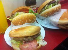 Hamburguesas en Donoso, Madrid, Spain