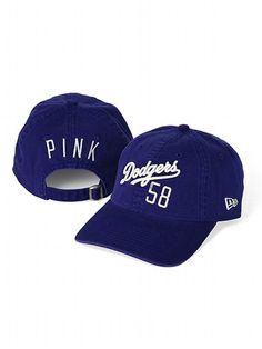 PINK Los Angeles Dodgers Vintage Baseball Hat  VictoriasSecret  http   www.victoriassecret 849857128612
