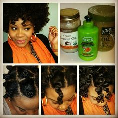 This is exactly what I use on a two strand twist out, I need to try the bantu knots. Makes your hair feel so soft!