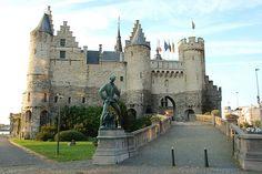 Medieval Het Steen Castle in Belgium, Antwerp | Flickr - Photo Sharing!