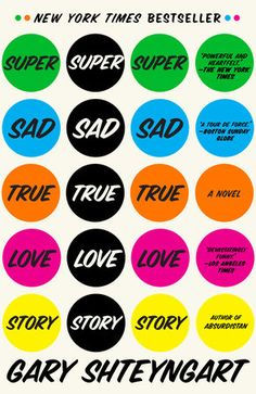 Super Sad True Love Story Book Cover Picture