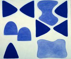 William Scott, Berlin Blues 4, 1965, Oil on canvas, 152 x 183.5 cm / 60¼ x 72¼ in, Tate, London