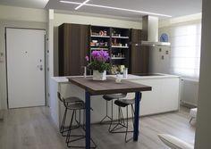 Cucina snaidero con piano snack Www.habitatcasa.it | Progetti per ...
