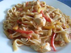 Cajun Chicken Pasta in Alfredo Sauce   Küchentigers Rezepte Blog