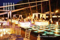 www.hubba.com.mx #video #iluminación #música #dancefloor #eventos