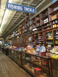 This is the hardware store in old New Braunfels. (Henne Hardware) Just amazing. I could have hung out in here for hours. Old General Stores, Old Country Stores, Old West Decor, Fishing Shop, Garage Storage Systems, Store Layout, Apothecary Cabinet, Shop Interiors, Store Fronts
