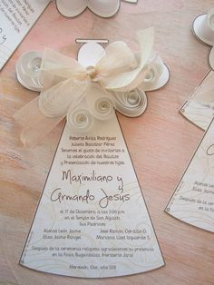 Baptism or communion invitations Baby Baptism, Baptism Party, Baby Party, Baptism Ideas, First Communion Cards, First Holy Communion, Christening Invitations, Wedding Invitations, Communion Invitations