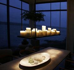 Coolest Candle Chandeliers For The Dining Room
