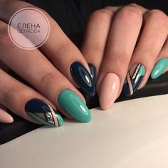 Gel Nail Designs You Should Try Out – Your Beautiful Nails Fabulous Nails, Gorgeous Nails, Trendy Nails, Cute Nails, Hair And Nails, My Nails, Nail Manicure, Nail Polish, Uñas Fashion