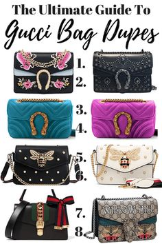 b8d2c591fc87 The Best Gucci Bag Dupes - The Only Guide You Will Need