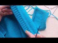 (10) Вязание планки для кардигана, кофты и пр. (ложная кеттлевка) - YouTube