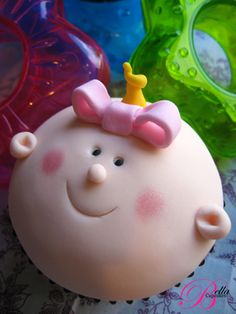 Baby Face Cupcake