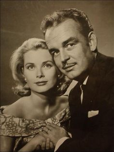 Princess Grace and Prince Ranieri of Monaco.