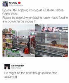 Dis bitch has never seen ratatouille
