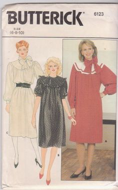 1980s vintage sewing pattern for modest loose by beththebooklady, $7.99