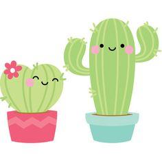 Silhouette Design Store: Cactus - So Punny Watercolor Wallpaper Phone, Stitch Games, Cactus Drawing, Cactus Stickers, Cactus Decor, Rock Crafts, Cute Cartoon Wallpapers, Cute Illustration, Silhouette Design
