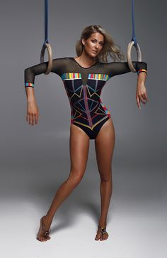 Sylvia P Couture Collection - Futuristic Tribal #sylviapcouture #sylviap #gymnastics #gymnasticsleo #leotard #leo #swarovski #photoshoot #fashion #design #designer #couture #designer #haute #crystals #fashiondesign #elegant #ocean #ombre #beam #design #patternmaking #release #launch #exclusive #purchase #buy #girl #cute #stretch #fitness #beautiful #forsale