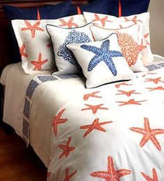 Summer Reef Bedding From Nautical Luxuries