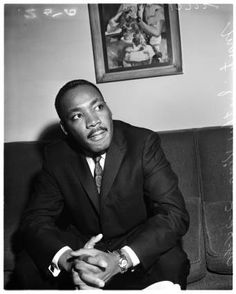Martin Luther King Jr., 1960 :: Los Angeles Examiner Collection, 1920-1961