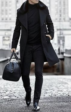 30 The coolest casual winter fashion outfits for me . 30 The coolest casual winter fashion outfits for me ⋆ zonamasak.me , 30 The Most Cool Casual Winter F. Gents Fashion, Fashion Mode, Mens Fashion Suits, Fashion Boots, Fashion Menswear, Trendy Fashion, Black Men's Fashion, Fashion For Man, Style Fashion