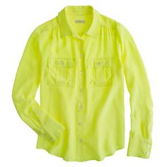 Blythe blouse in silk - shirts & tops - Women's new arrivals - J.Crew