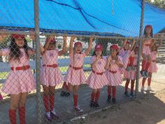 Video: Birthday party A League of Their Own Rockford Peach style