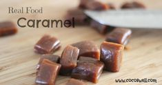 real food caramel without the JUNK www.cocoswell.com